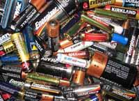 Inleveren Batterijen
