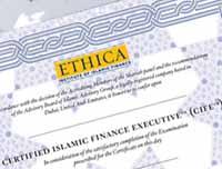 Islamic finance Certifications