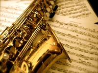 Bladmuziek saxofoon