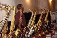 Saxofoonwinkel