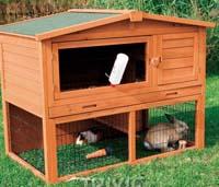 konijnen hokken